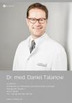 Portrait Dr. med. Daniel Talanow, e-sthetic®, Privatklinik für Plastische und Ästhetische Chirurgie, Essen, Plastischer Chirurg