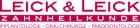 Logo Zahnärztin : Dr. med. dent. Nicole Leick, Leick & Leick Zahnheilkunde Frankfurt Höchst, Implantologie Oralchirurgie Parodontologie, Frankfurt