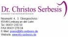 dr christos serbesis limburg. Black Bedroom Furniture Sets. Home Design Ideas