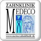 Logo Zahnarzt : Dr. med. dent. , MMSc (Harvard) Sven Glindemann, Zahnklinik MEDECO Düsseldorf Oberkassel, Praxis Dr. Sven Glindemann, Düsseldorf
