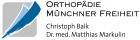 Logo Orthopäde, Chirurg : Dr. med. Matthias Markulin, Orthopädie Münchner Freiheit, , München