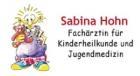 Logo Kinderärztin : Sabina Hohn, Praxis für Kinderheilkunde und Jugendmedizin, Asthma und Neurodermitis Trainerin, Psychosomatische Grundversorgung, Nürnberg