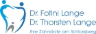 Logo Zahnarzt : Dr. Thorsten Lange, Dr. Fotini & Dr. Thorsten Lange, Tätigkeitsschwerpunkte Implantate, Keramikimplantate,navigierte Implantologie, Wurzelbehandlungen, Kiefergelenkstörungen, Rosenheim-Stephanskirchen