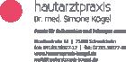 Logo Hautärztin : Dr. med. Simone Kögel, Hautarztpraxis Kögel, , Schwaikheim