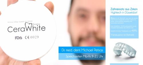 , Dr. med. dent Michael Petsas, Zahnarztpraxis CeraWhite Düsseldorf, Implantologie,  Ästhetische Zahnmedizin, Düsseldorf, Zahnarzt, Oralchirurg
