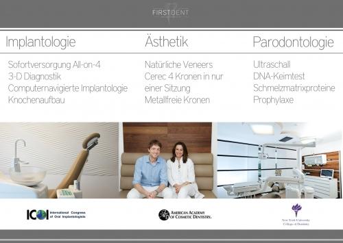 , Lidija Buchmüller, First Dent, Zentrum für Implantologie, Parodontologie, Ästhetische Zahnheilkunde, Düsseldorf, Zahnärztin